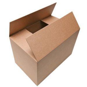 Большая картонная коробка для переезда