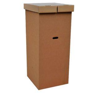 Малая гардеробная коробка для переезда