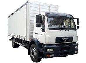 Машина для переезда МАН 36 кубов