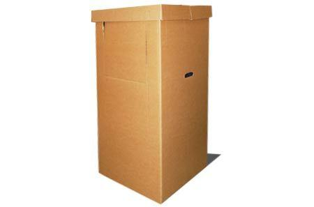 Гардеробная коробка для переезда 500х600х1300